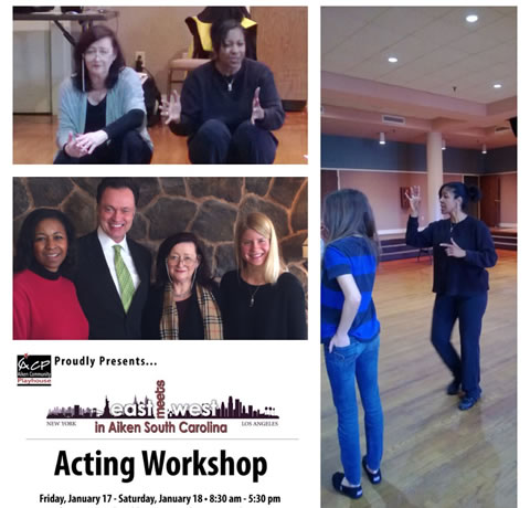 Acting Workshop with Janis Powell, Aiken, South Carolina, January, 2014