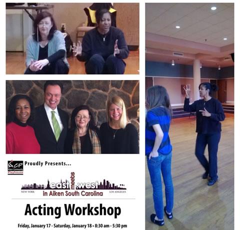 Acting Workshop with Janis Powell, Aiken, South Carolina, January, 2014