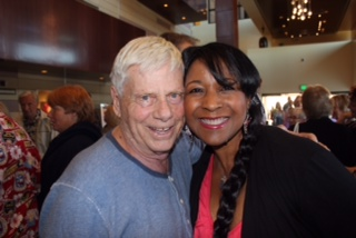 Robert Morse and Theresa Hayes