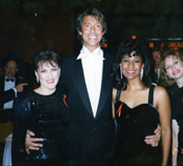 With Tommy Tune and Cheryl  Baxter